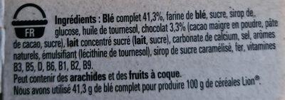 céréale lion - Ingredients