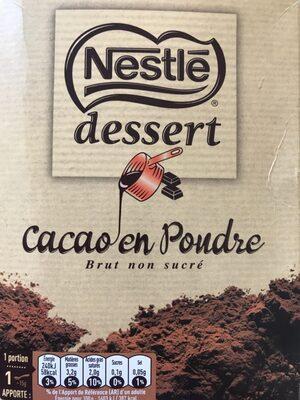 Cacao en poudre brut non sucré - Produit - fr