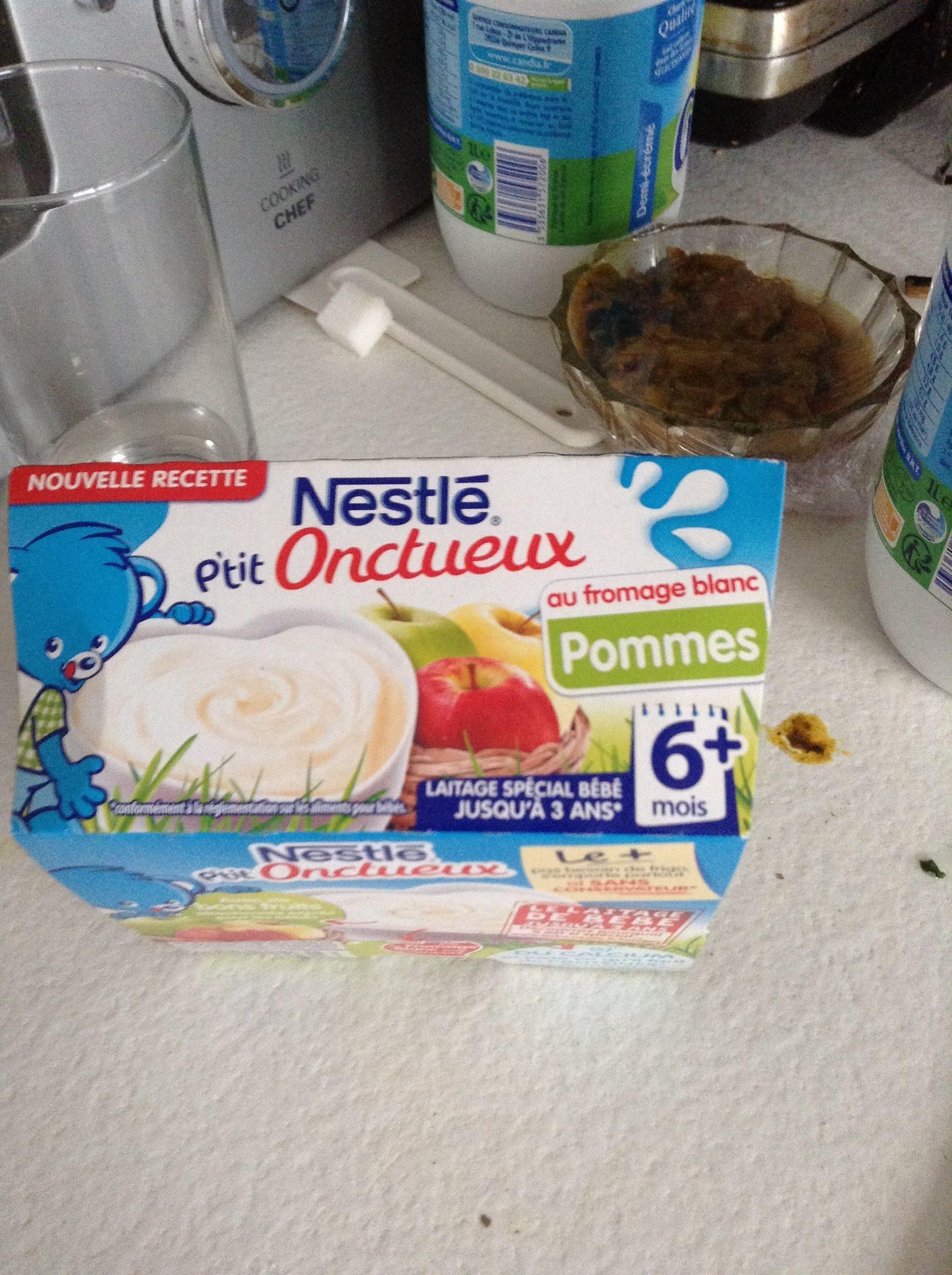 P'tit onctueux au fromage blanc pommes - Prodotto - fr