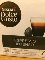 Dolce Gusto espresso intenso - Product