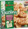 BUITONI PICCOLINIS mini-pizzas surgelées CREMOSA AL PROSCIUTTO - Lardons Crème 270g (9 pièces) - Produto