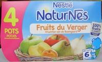 NaturNes Fruits du verger (4 Pots) - Product