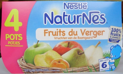 NaturNes Fruits du verger Nestlé   calories et informations ... 7b19e7aef43