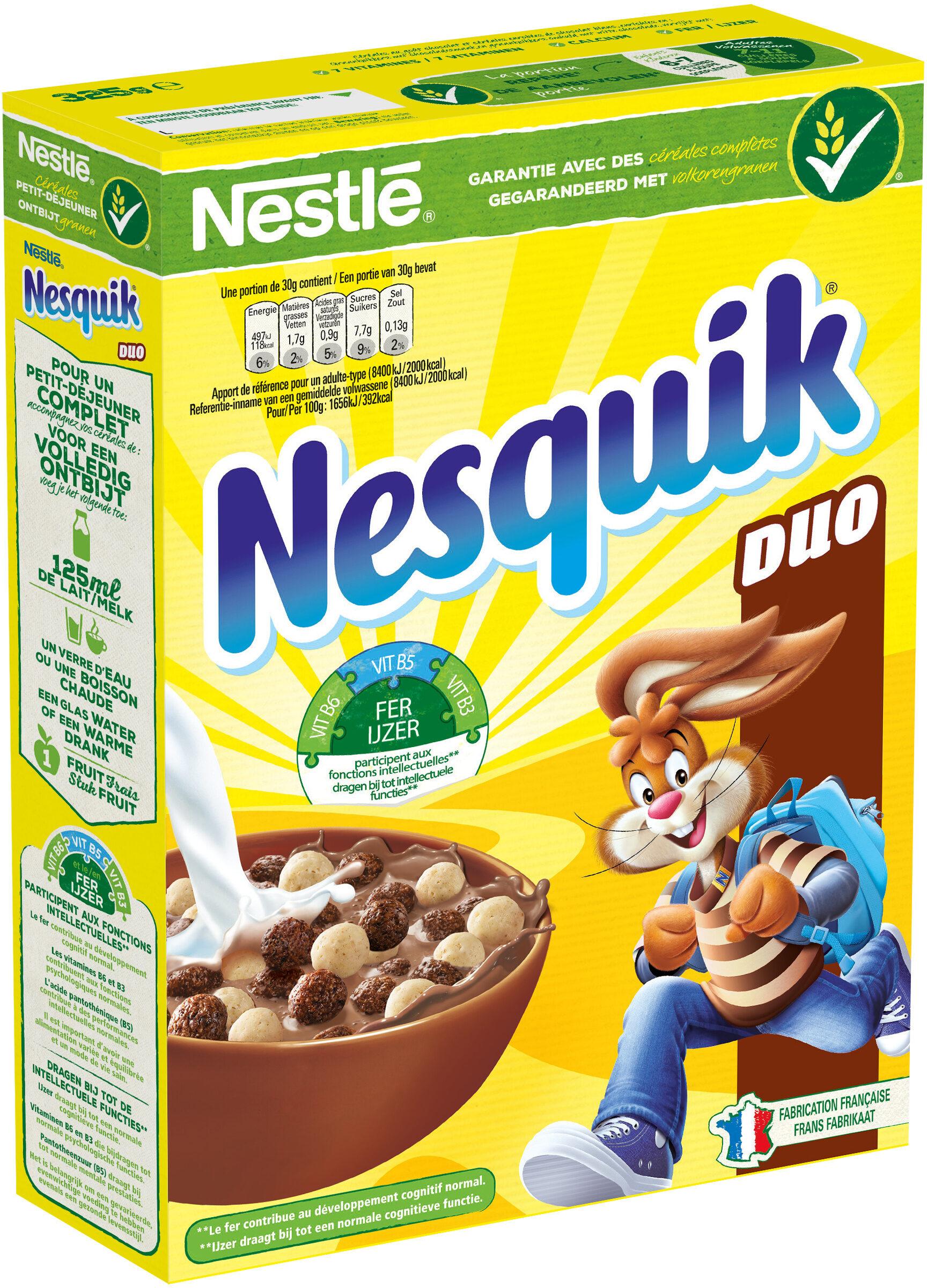 NESTLE NESQUIK Duo Céréales paquet de - Produit - fr