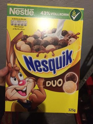 Nestlé Nesquik Duo - Produkt