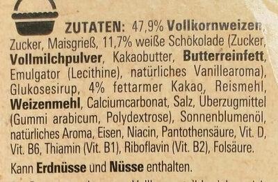 Nestlé Nesquik Duo - Zutaten - de