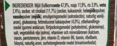 Nestlé Nesquik Duo - Inhaltsstoffe