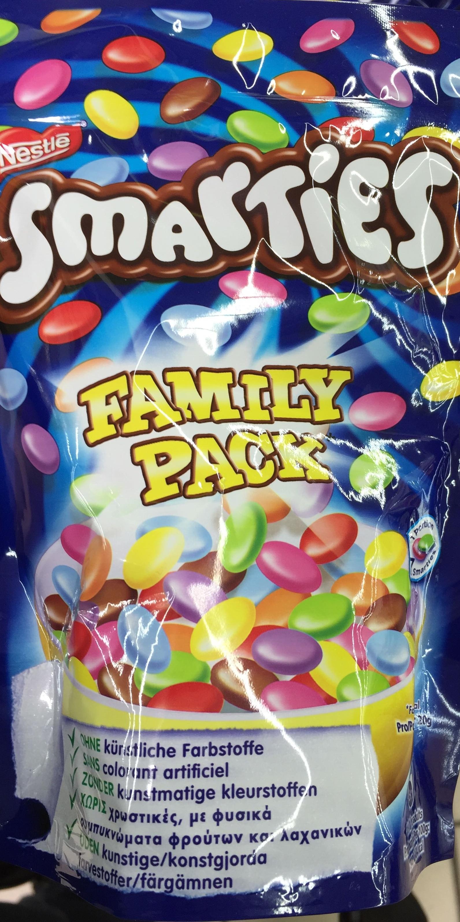 Smarties Family Pack - Produit - fr