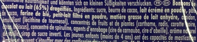 Smarties Family Pack - Ingrédients - fr