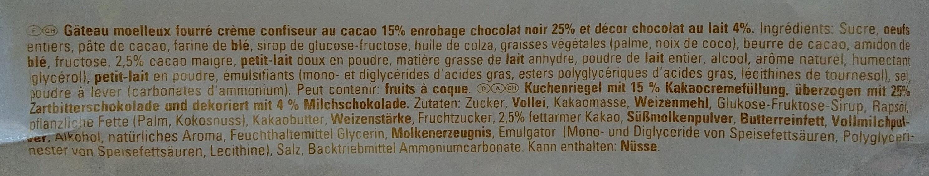 Yes Cacao - Inhaltsstoffe - de