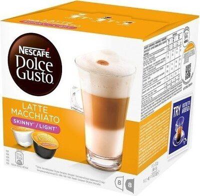 Gusto Skinny Latte Macchiato Coffee Pods Capsules - Produit - en