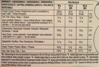 Latte Macchiato Skinny / Light - Informations nutritionnelles - en