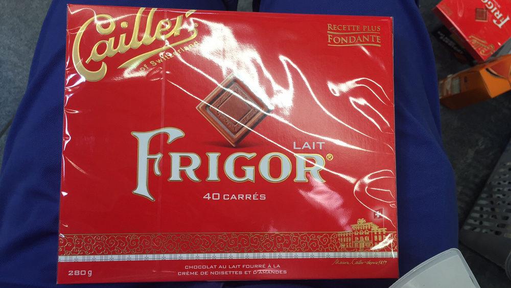 Caillei of switzerland LAIT FRIGOR - Product