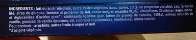 Cônes Extrême Vanille - Ingredienti - fr