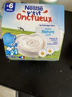 PACK 8X100G P'TIT ONCTUEUX FROMAGE BLANC NATURE NESTLE - Prodotto - fr
