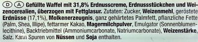 Snack Erdnuss - Inhaltsstoffe