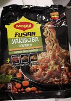 Fusian yakisoba fideos sabor curry - Product