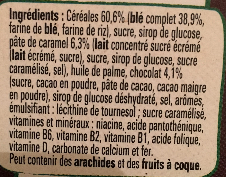 Céréales Lion caramel & chocolat - Ingredients