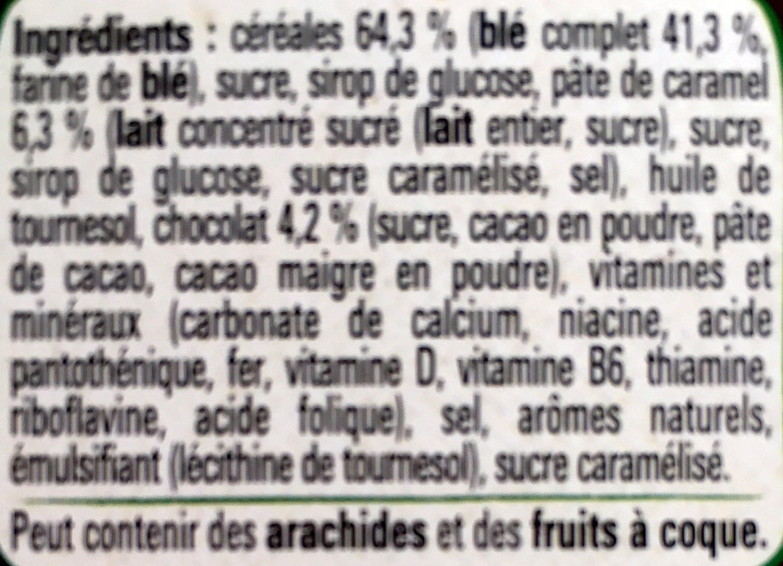 Céréales Lion caramel & chocolat - Ingredients - fr