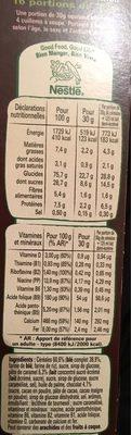 Céréales Lion caramel & chocolat - Nutrition facts - fr