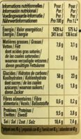 800G Fond Blanc Volaille Chef - Informations nutritionnelles