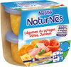 NESTLE NATURNES Petits Pots Bébé Légumes du Potager, Pâtes, Jambon -2x200g -Dès 12 mois - Prodotto