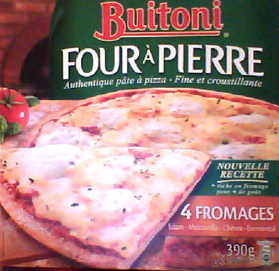 Four à pierre, authentique pâte à pizza - Produit - fr