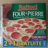 Four à pierre - Chorizo Fromages Oignons - Product
