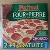 Four à pierre - Chorizo Fromages Oignons - Produit