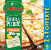 BUITONI FOUR A PIERRE Pizza Surgelée 4 Fromages 3 packs x 390g (2+1 offerte) - Produit