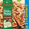 BUITONI FOUR A PIERRE Pizza Surgelée Bolognaise 3 packs x 390g (2+1 offerte) - Product