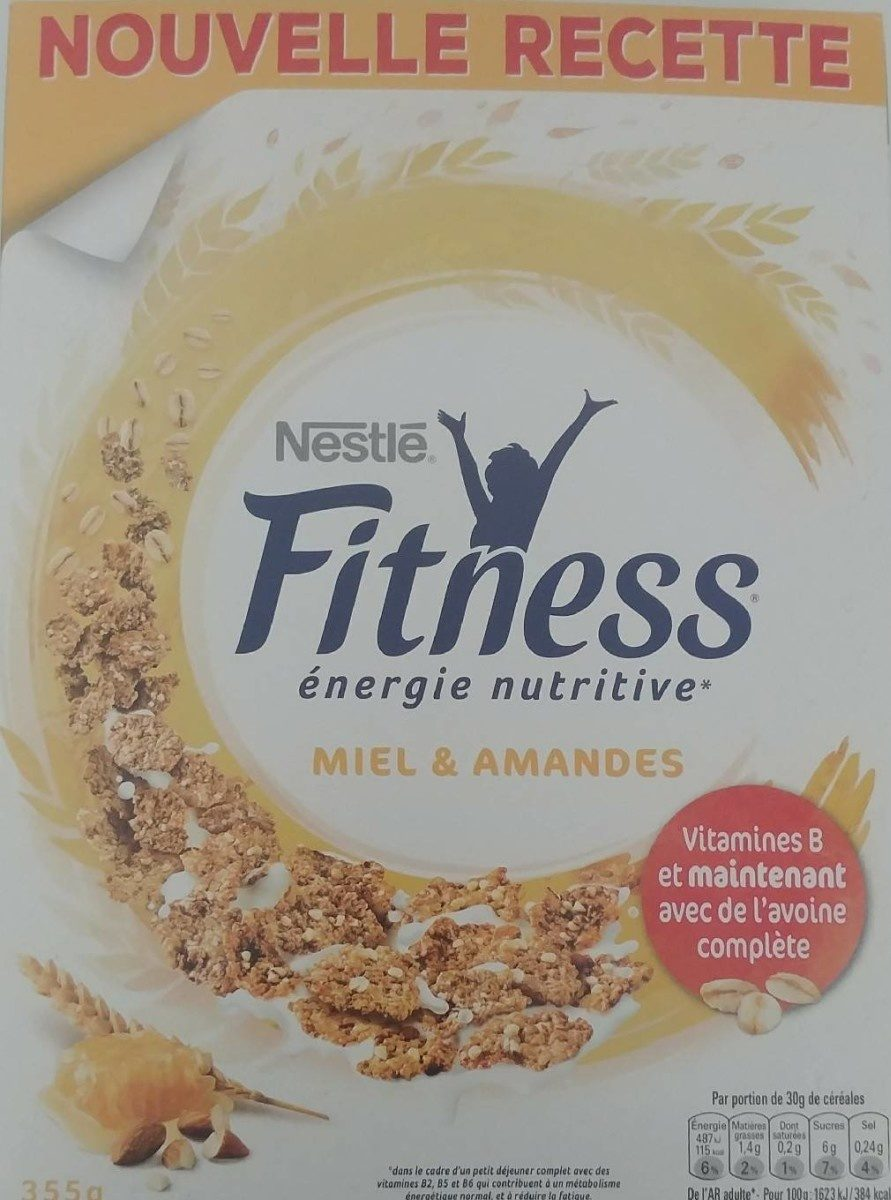FITNESS Miel amandes - Product - fr