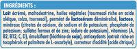 NIDAL 3 Croissance de 1 à 3 ans - Ingrédients - fr