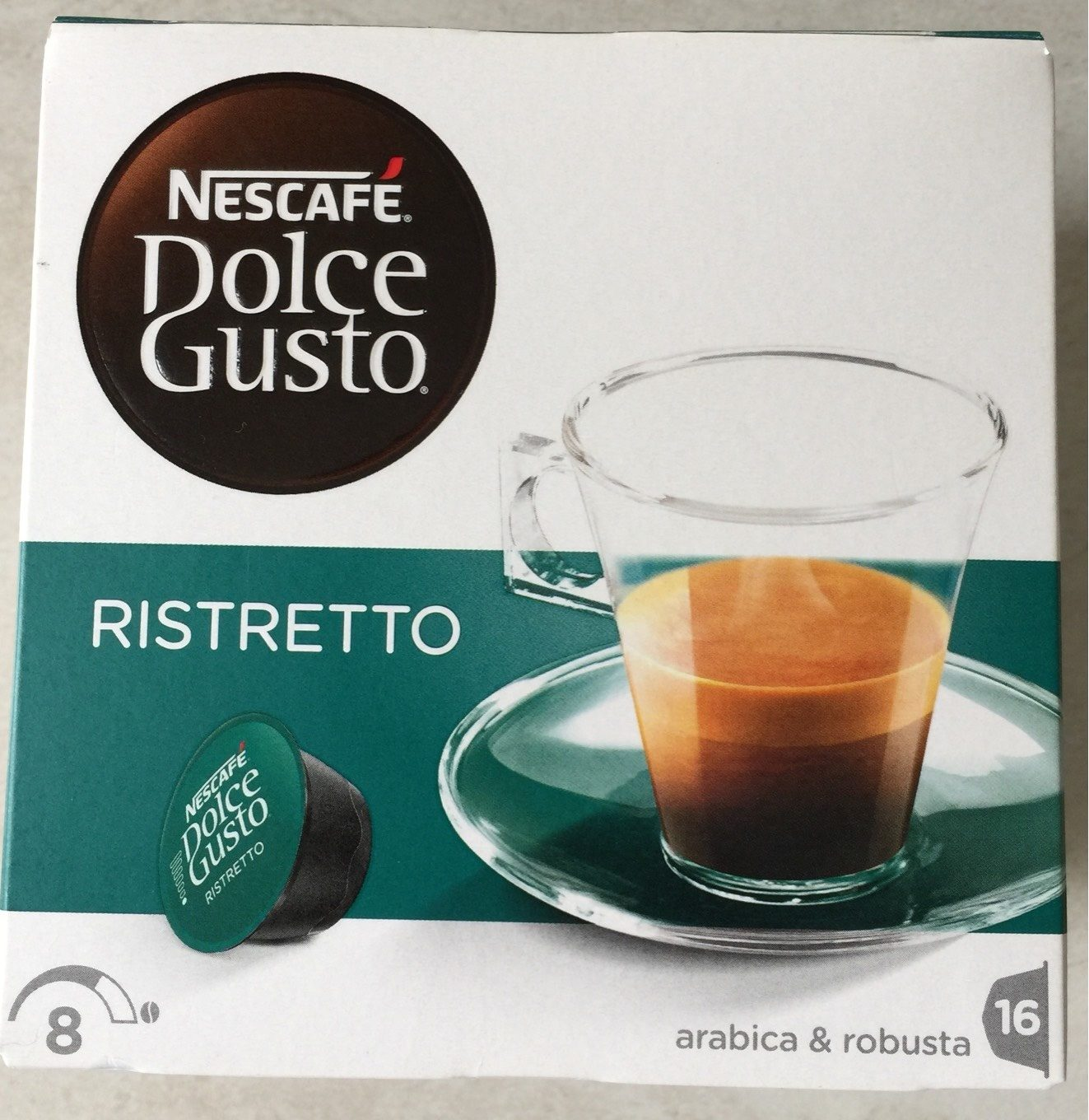 Dolce Gusto ristretto - Product - fr