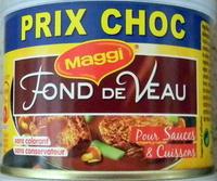 Fond de Veau pour Sauces et Cuissons - Produit