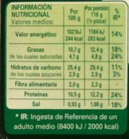 Forno Di Pietra - Caprese - Informazioni nutrizionali - es