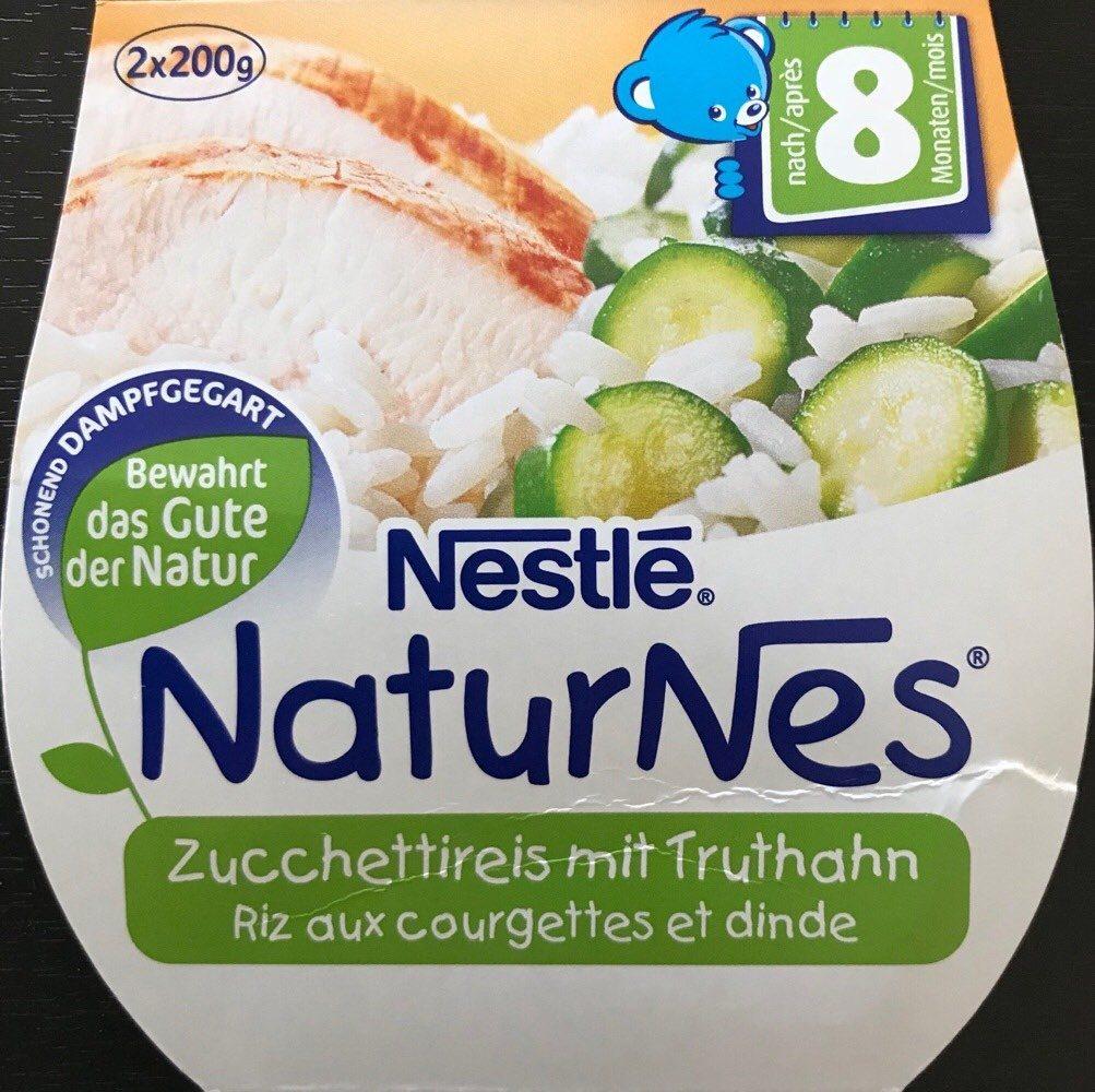 NaturNes Riz aux courgettes et dinde - Prodotto - fr