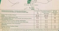Pizza vegetal calabacín pimientos y aceitunas - Información nutricional - es