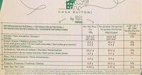 Forno di pietra verdure grigliate  surgelata - Nutrition facts - es