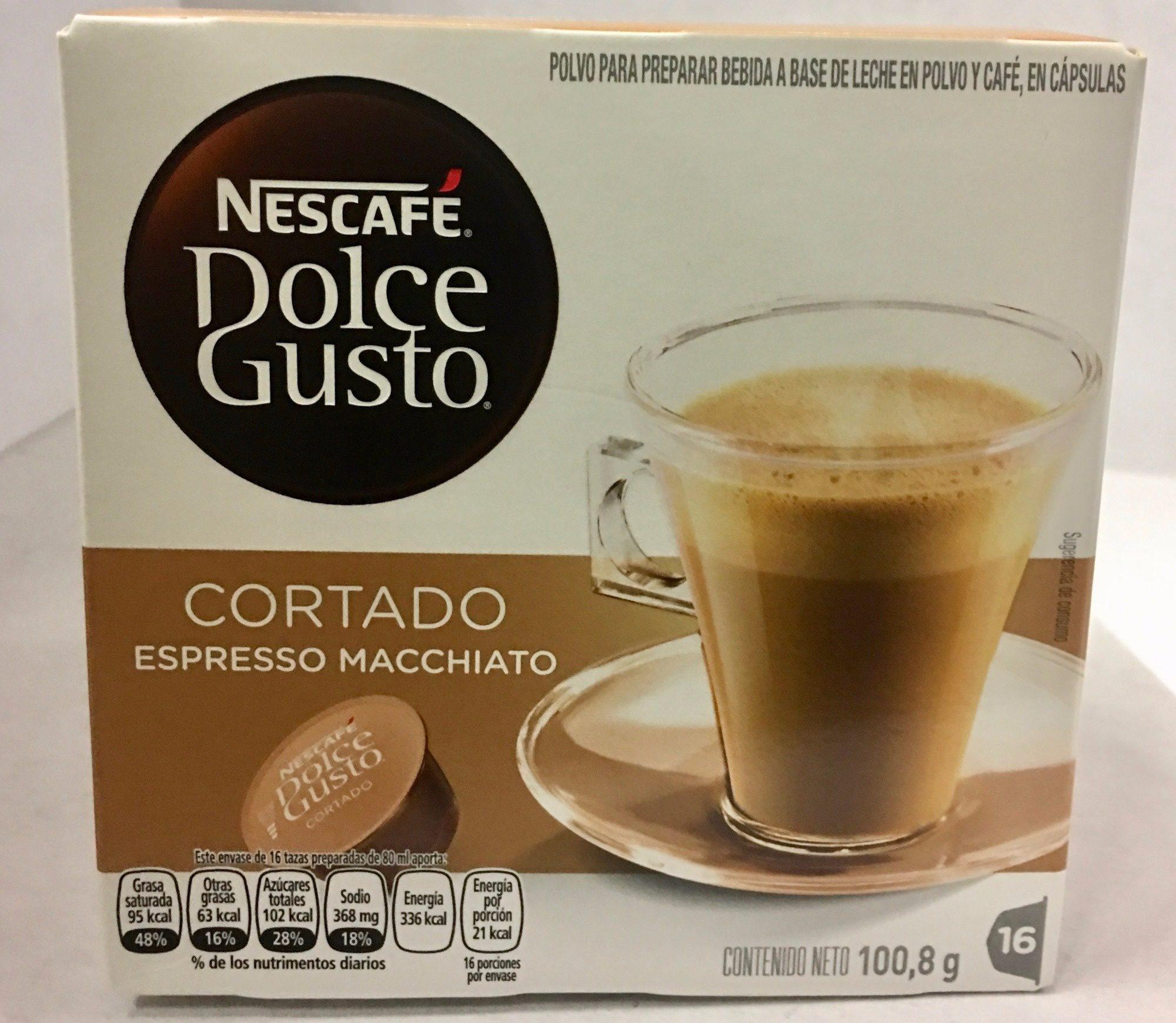 Dolce Gusto cortado espresso macchiato - Product - es