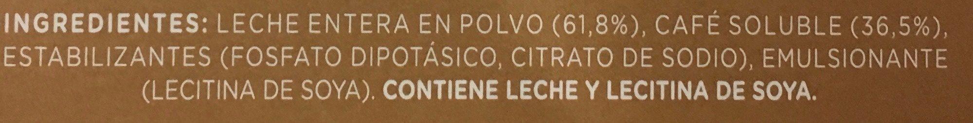 Dolce Gusto cortado espresso macchiato - Ingredientes - es