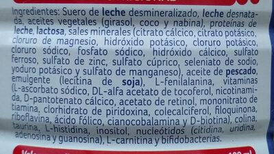 Nidina 1 Premium - Ingredientes - es