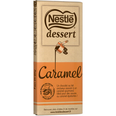 NESTLE DESSERT Chocolat au Lait Caramel - 10