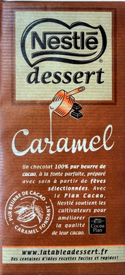 Chocolat Nestlé Dessert au caramel - Product - fr