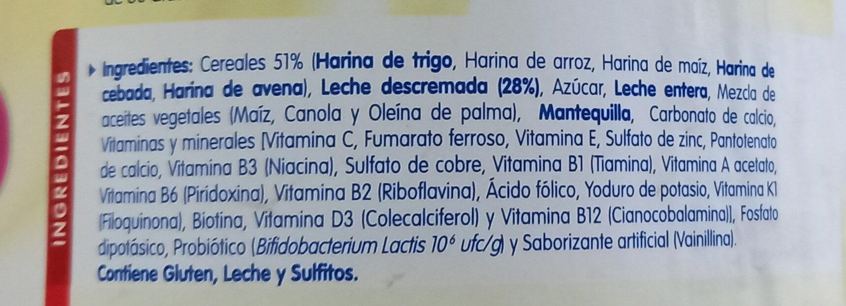 CERELAC - Ingredienti - es