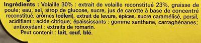 Coeur de bouillon volaille x6 - Ingrédients
