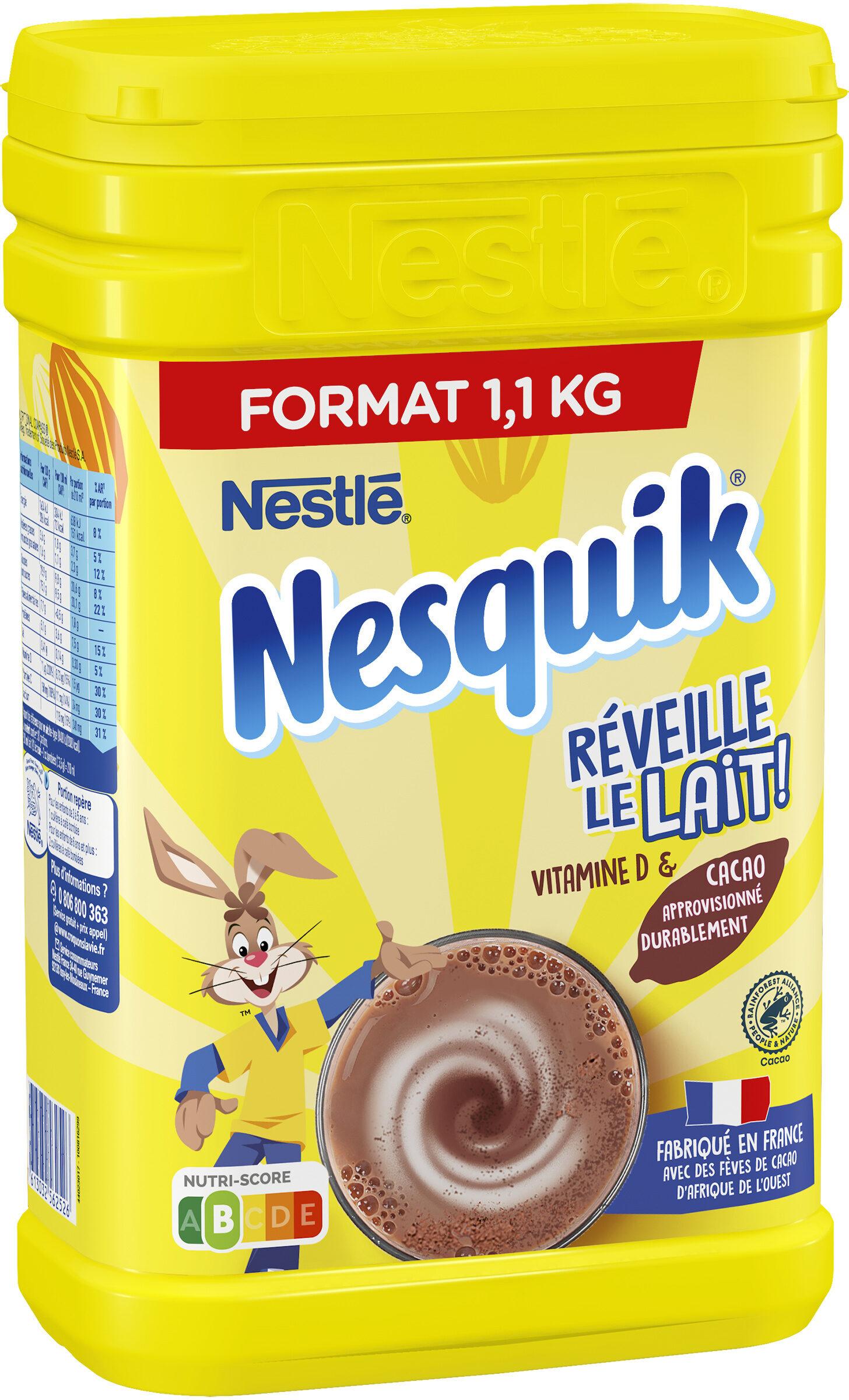 NESQUIK Poudre Cacaotée boîte 1,1kg - Product - fr