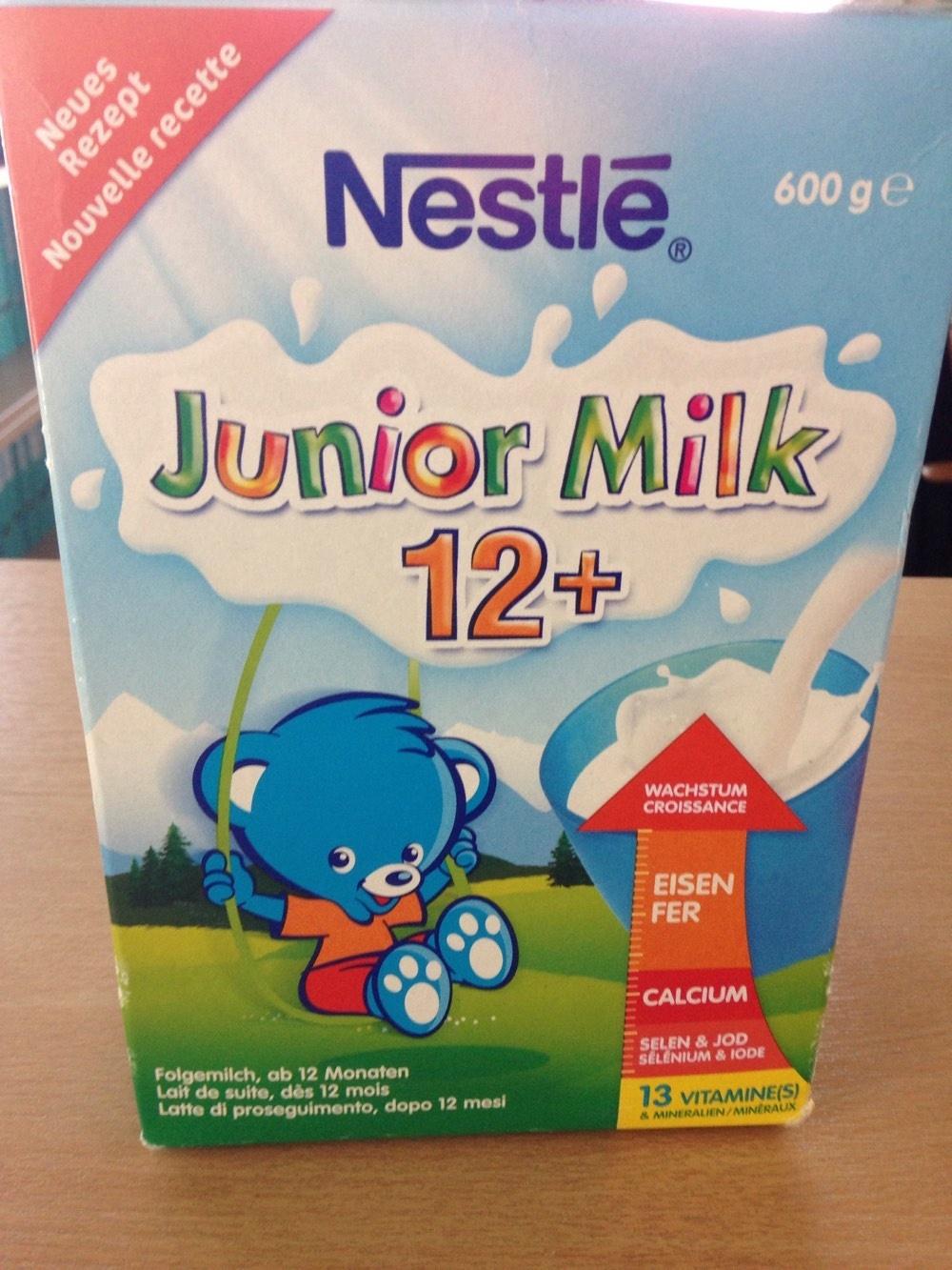 Junior Milk 12+ - Product - fr