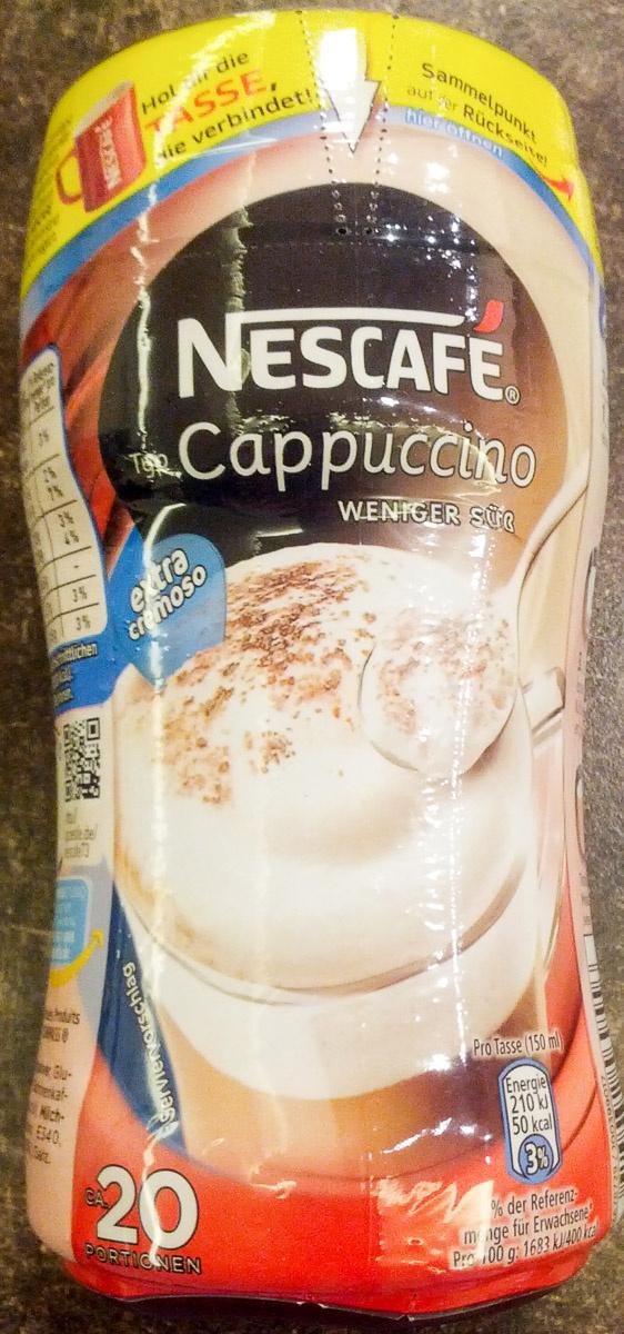 Nescafé Cappuccino - weniger süß - Produit - de