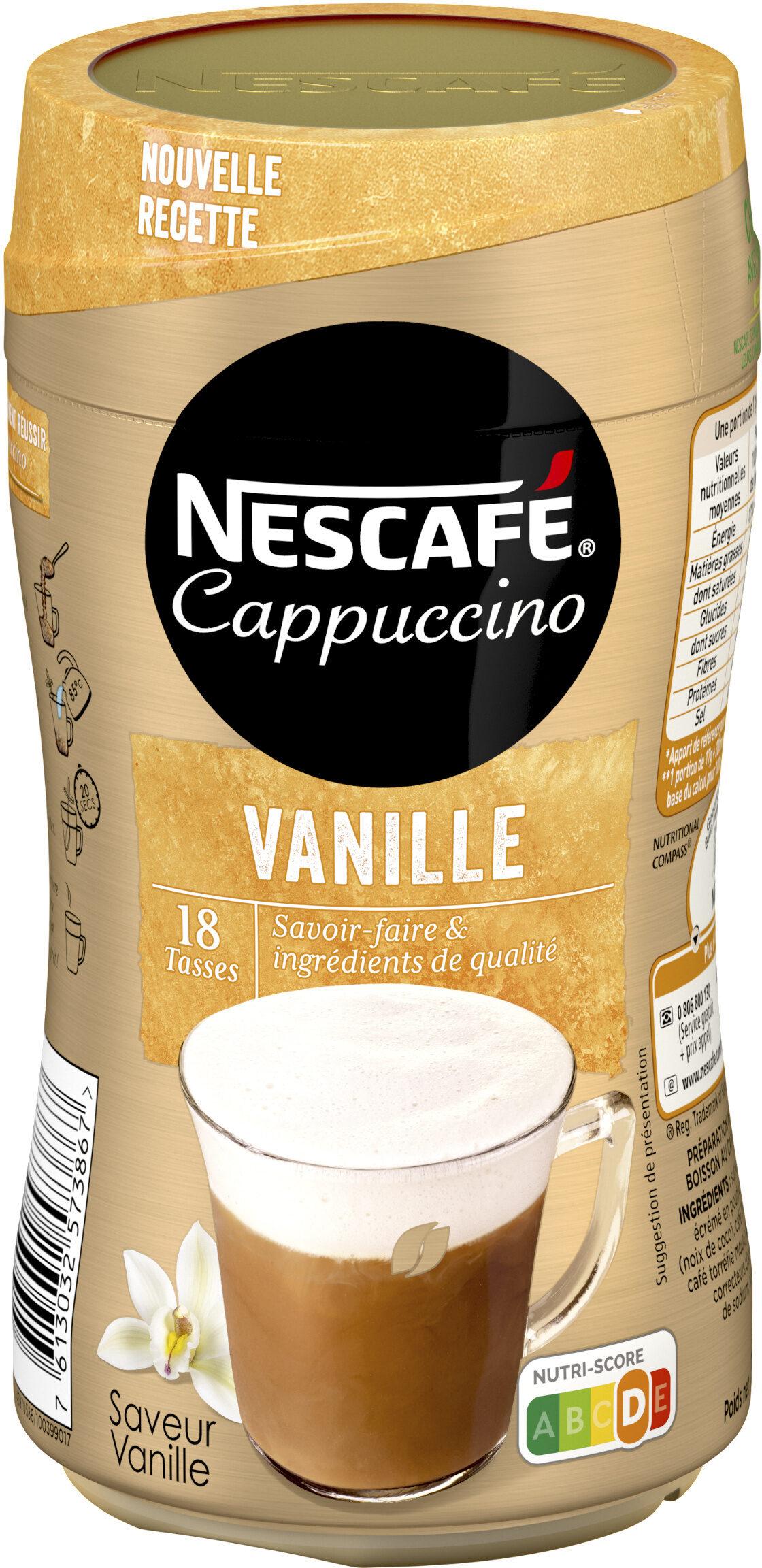 NESCAFE Cappuccino Vanille, Café soluble, Boîte de - Produit - fr